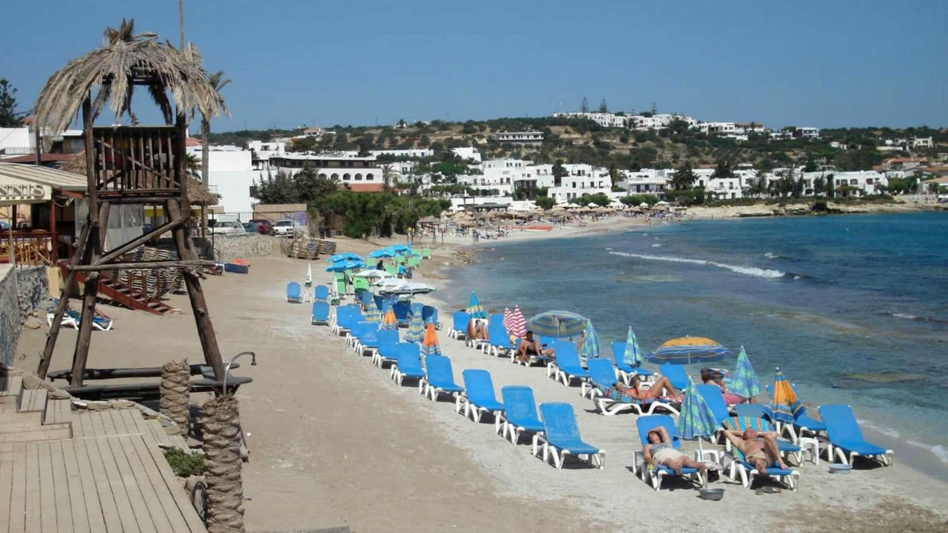 Star beach крит пляж фото